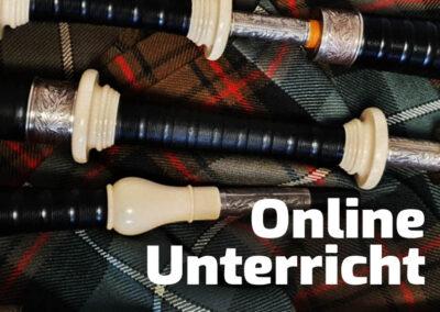 Dudelsack-Online-Unterricht