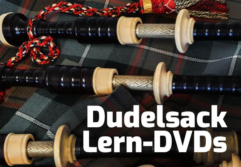 Dudelsack-Lern-DVDs
