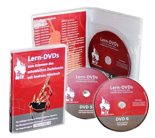 """Dudelsack-Lern-DVDs-""""Rot"""""""