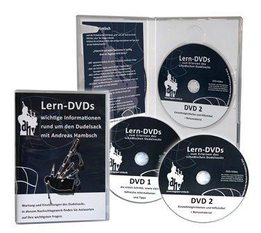 """Dudelsack-Lern-DVDs-""""Blau"""""""
