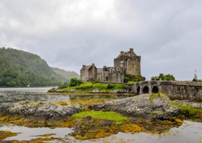 Burg-in-Schottland