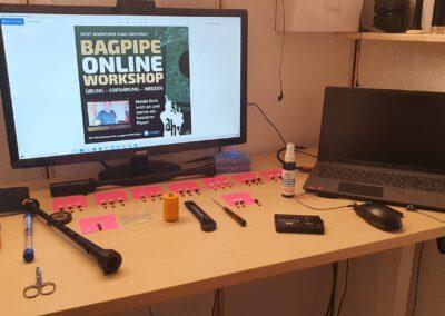 Online-Dudelsack-Workshop