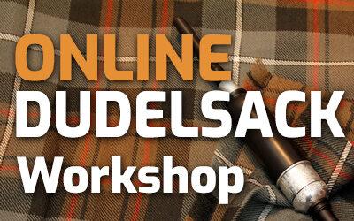 37. Online-Dudelsack-Workshop am 07.10.21 | Dudelsack Single Grace Notes & G-D-E Grace Note Übungen